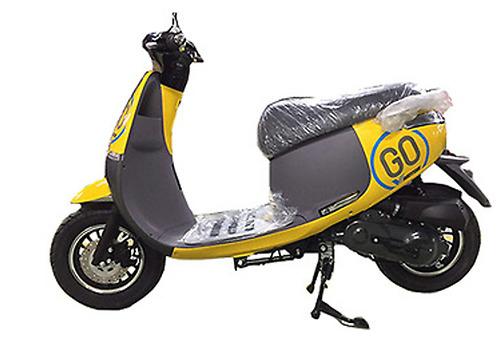 Xe ga 50cc Gogo Vmotor màu vàng